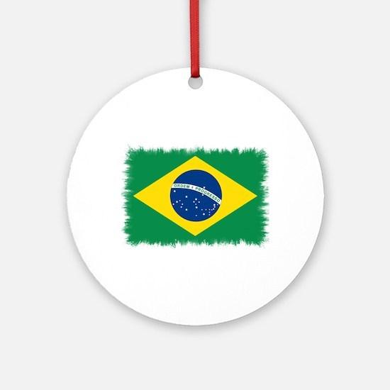 Static Flag Ornament (Round)