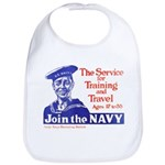 Join The Navy Bib