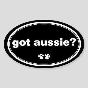 Got Aussie? Oval Sticker