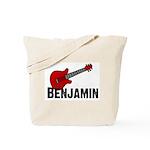 Guitar - Benjamin Tote Bag