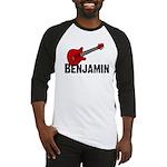 Guitar - Benjamin Baseball Jersey