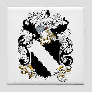 Braden Coat of Arms Tile Coaster