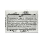 Lost Democracy. Please return Rectangle Magnet (10