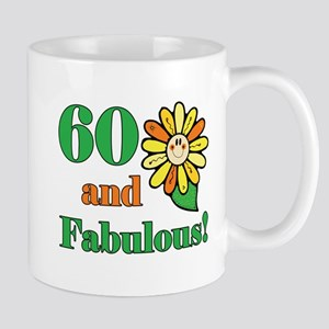 Fabulous 60th Birthday Mug