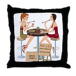 Seminole Sushi Girls Throw Pillow