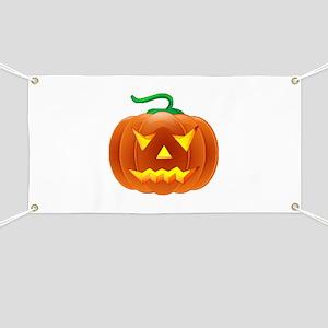 Halloween Pumpkin Banner