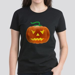 Halloween Pumpkin Women's Dark T-Shirt