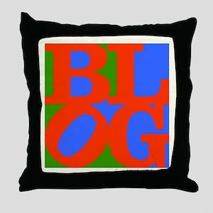 BLOG60s Throw Pillow