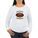 Fantasy Football Champion 2009 Women's Long Sleeve
