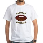 Fantasy Football Champion 2009 White T-Shirt