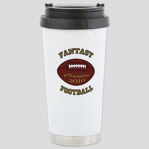 2010 Fantasy Football Champion Stainless Steel Tra