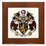 American College of Heraldry Framed Tile