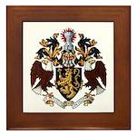 American College of Heraldry Framed Tile