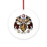 American College of Heraldry Ornament (Round)