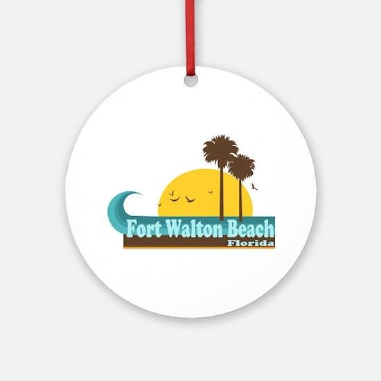 Fort Walton Beach FL Ornament (Round)