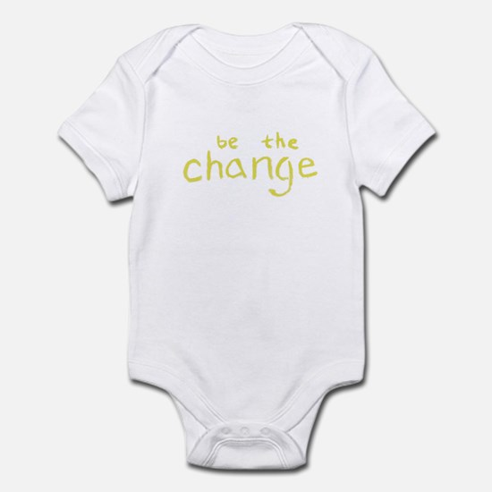 Be The Change (Yellow) Infant Bodysuit