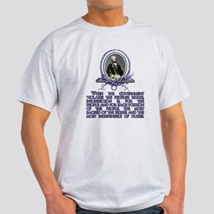 The Marquis de Lafayette on I Light T-Shirt
