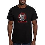 Pit Bull United Men's Fitted T-Shirt (dark)