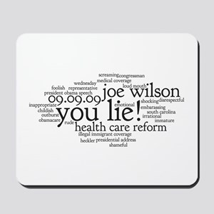 you lie Mousepad