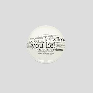 you lie Mini Button