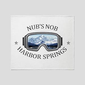 Nub's Nob - Harbor Springs - Michi Throw Blanket