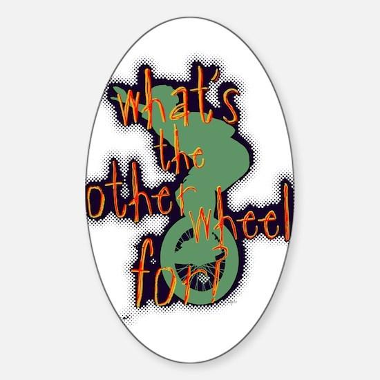 WTOWF oval sticker