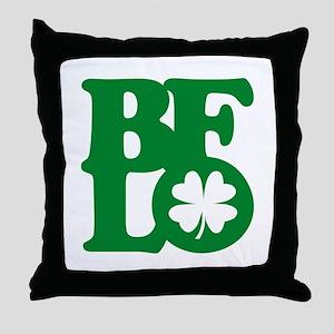 BFLO Irish Throw Pillow