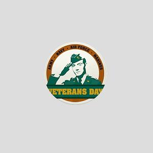 Veterans Day Mini Button