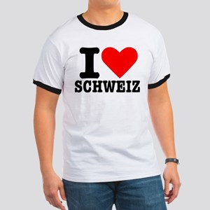 I love Schweiz - Switzerland Ringer T