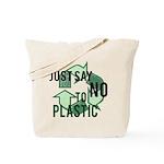 Just Say No to Plastic Reusable Tote Bag