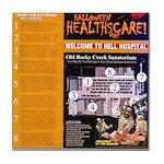 Souvenir Hell Hospital Tile Coaster