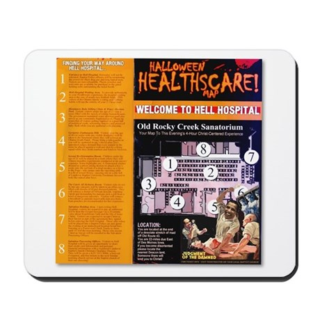 Hell House - Hell Hospital Souvenir Mousepad