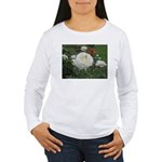 White Rose Women's Long Sleeve T-Shirt