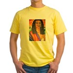 Warrior Princess Yellow T-Shirt