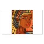 Egyptian Goddess Rectangle Sticker 10 pk)