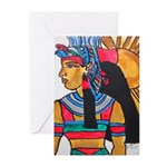 Queen Mother Isis Greeting Cards (Pk of 20)
