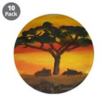 "Afican Savannah 3.5"" Button (10 pack)"