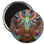 "Hawk Goddess 2.25"" Magnet (100 pack)"