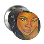 "Black Elegance 2.25"" Button"