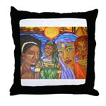 Entourage I Throw Pillow