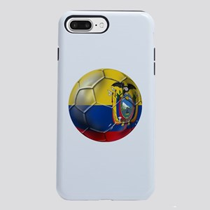 Ecuador Soccer Ball iPhone 7 Plus Tough Case