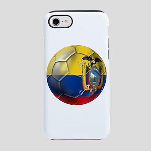 Ecuador Soccer Ball iPhone 7 Tough Case