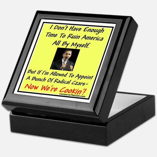 """Radical Czars"" Keepsake Box"