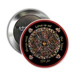 """Heart Center #1 (PS) 2.25"""" Button (10 pack)"""