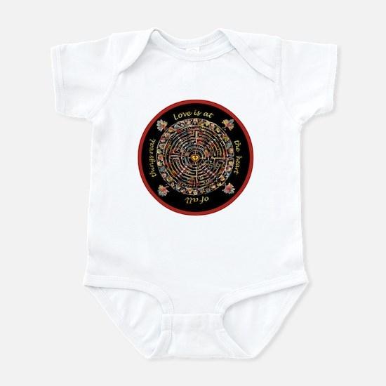 Heart Center #1 (PS) Infant Bodysuit