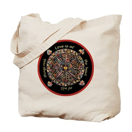 Heart Center #1 (PS) Tote Bag