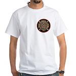 Heart Center #1 (PS) White T-Shirt