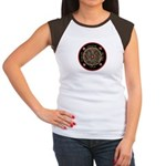 Heart Center #1 (PS) Women's Cap Sleeve T-Shirt