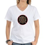 Heart Center #1 (PS) Women's V-Neck T-Shirt