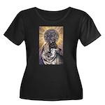 Dark Sun Women's Plus Size Scoop Neck Dark T-Shirt